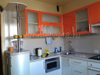 Гарнитур оранжевый   глянец+жемчуг в Липецке