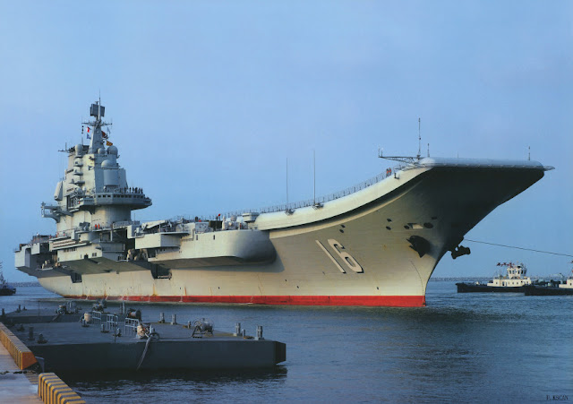 The Varyag was commissioned by the PLA Navy on 25 September 2012 and renamed Liaoning