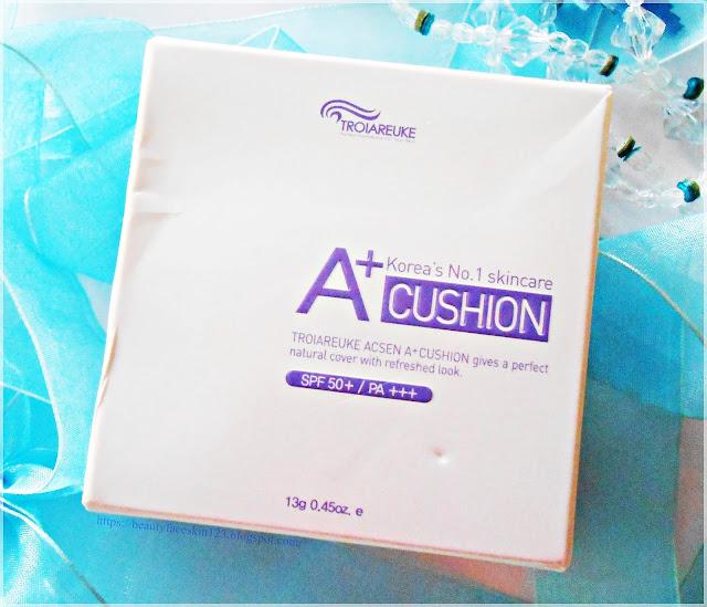 Troiareuke Acsen A+ cushion SPF 50+ PA+++