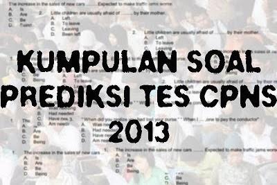 Download Soal Tes Tkd Latihan Ujian Cpns 2013