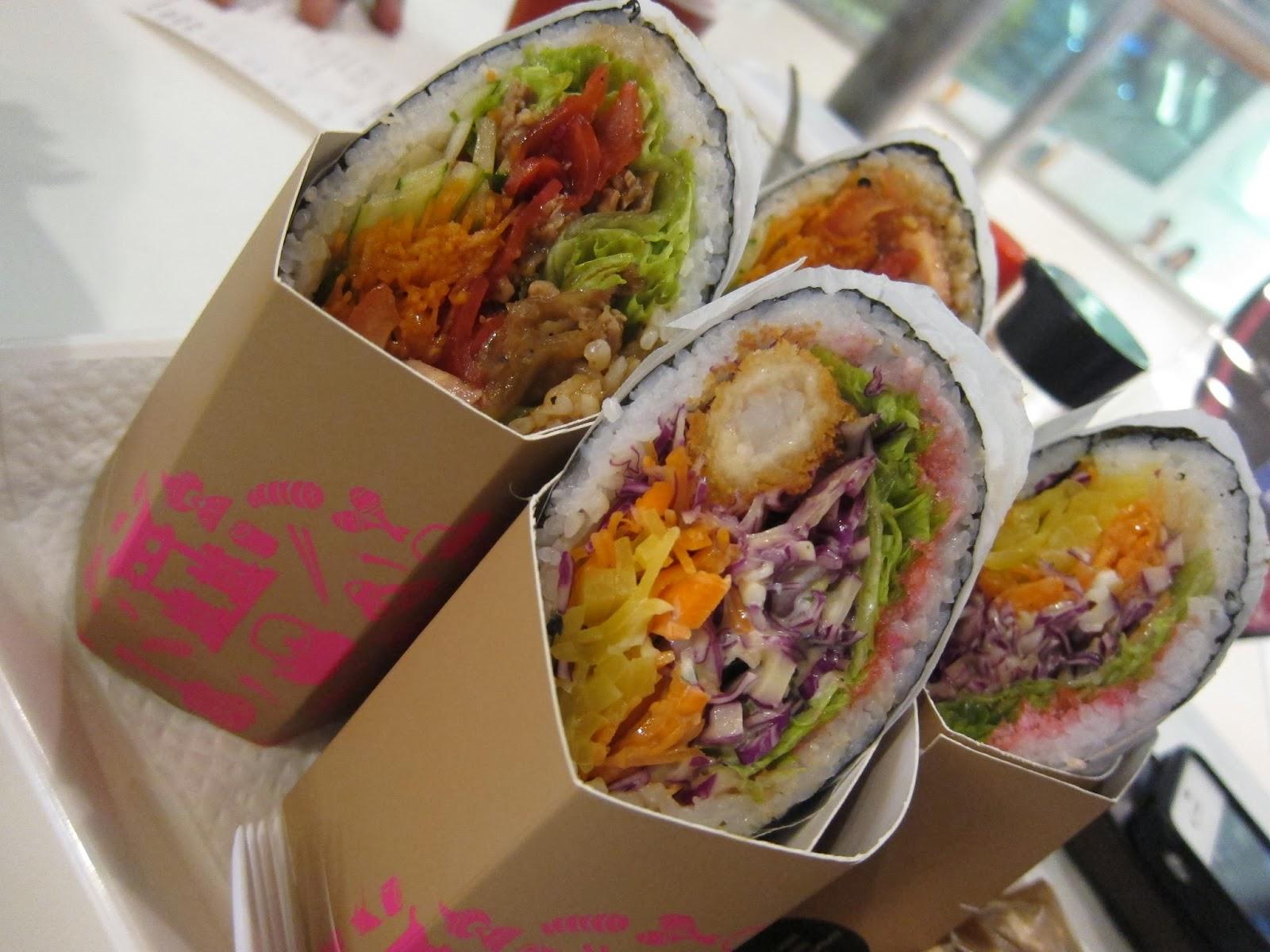 Eat. Drink. Dance. (Repeat!): Sushi Burrito Singapore