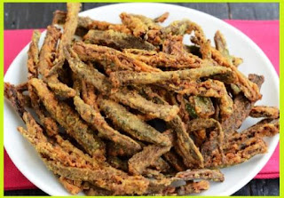 Besni Bhindi Recipe