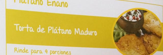 Torta de Plátano Maduro    Receta con Plátano Enano
