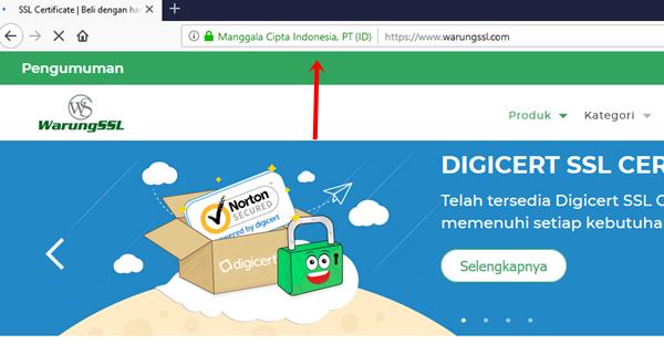 penyedia ssl certificate terbaik indonesia