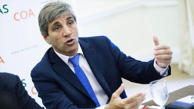 "Imputan a ministro de Macri por ""perjudicar"" al Estado"