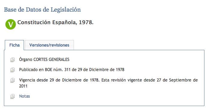 Estructura Del Texto Constitucional De 1978 Derecho