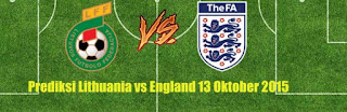 Lithuania vs England
