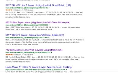 HANA TA for Hybris Ecommerce - Why Google??