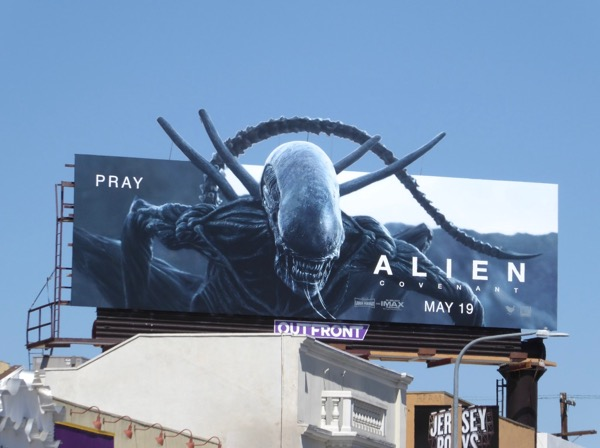 Alien Covenant special extension cutout billboard