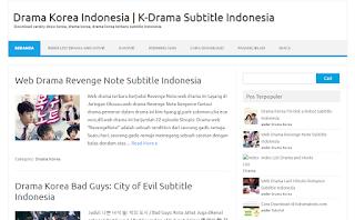 Situs download film drama Korea terbaik