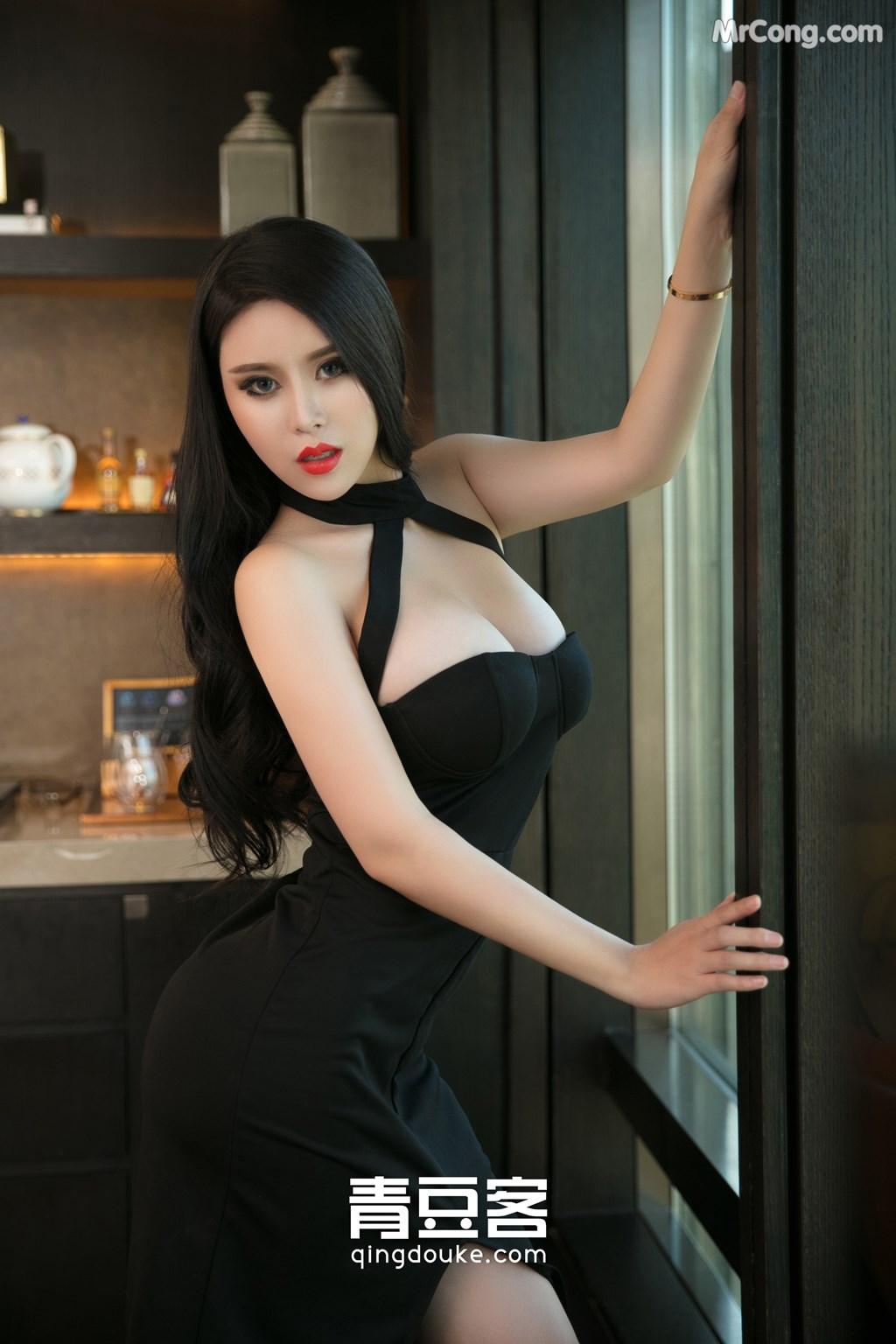 Image QingDouKe-2017-11-05-Ke-Rui-Na-MrCong.com-007 in post QingDouKe 2017-11-05: Người mẫu Ke Rui Na (可蕊娜) (48 ảnh)