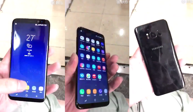 [Video] Samsung Galaxy S8 in all of its glory