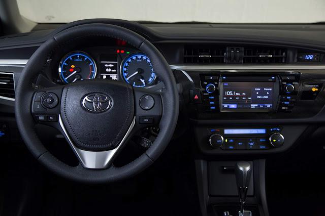 Toyota Corolla 2017 Dynamic - interior - painel