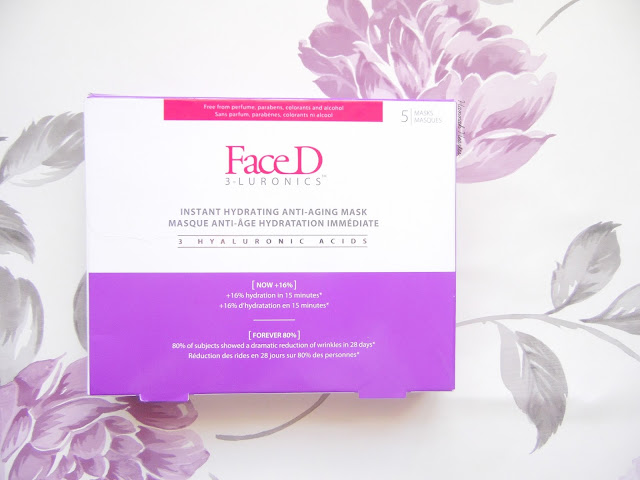 Face D Instant Hydrating Anti-Aging Sheet Masks