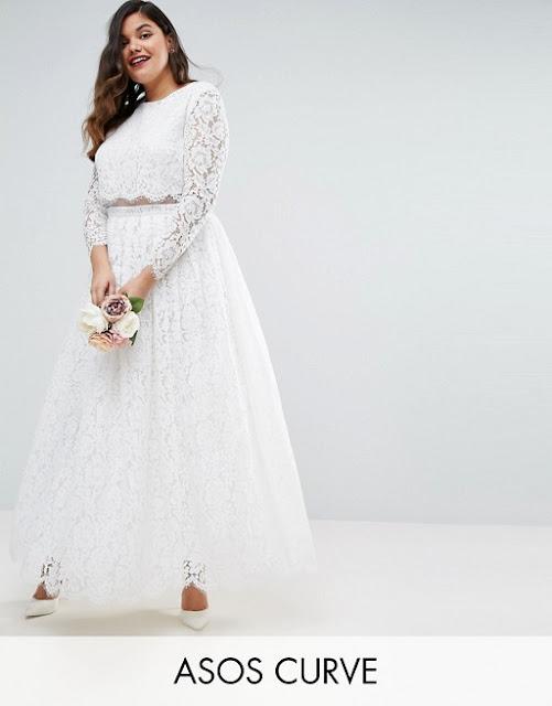 Asos Curve Bridal - 15 abiti da sposa sotto i 200 euro