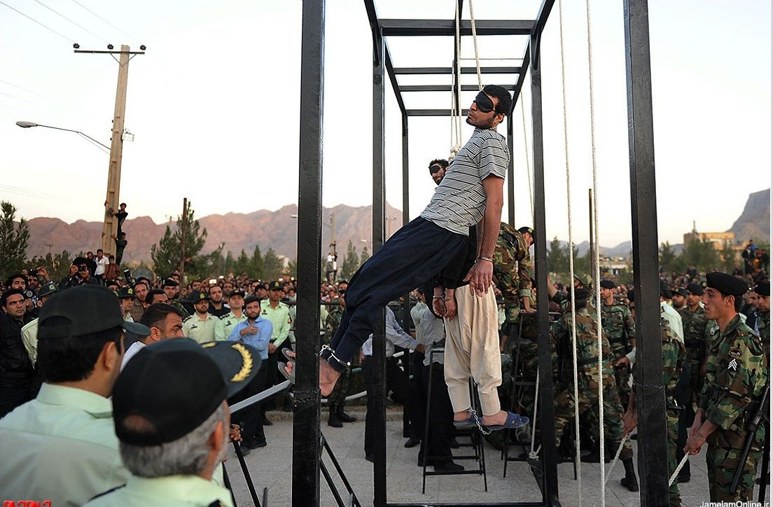 from Erick gay hangings in iran