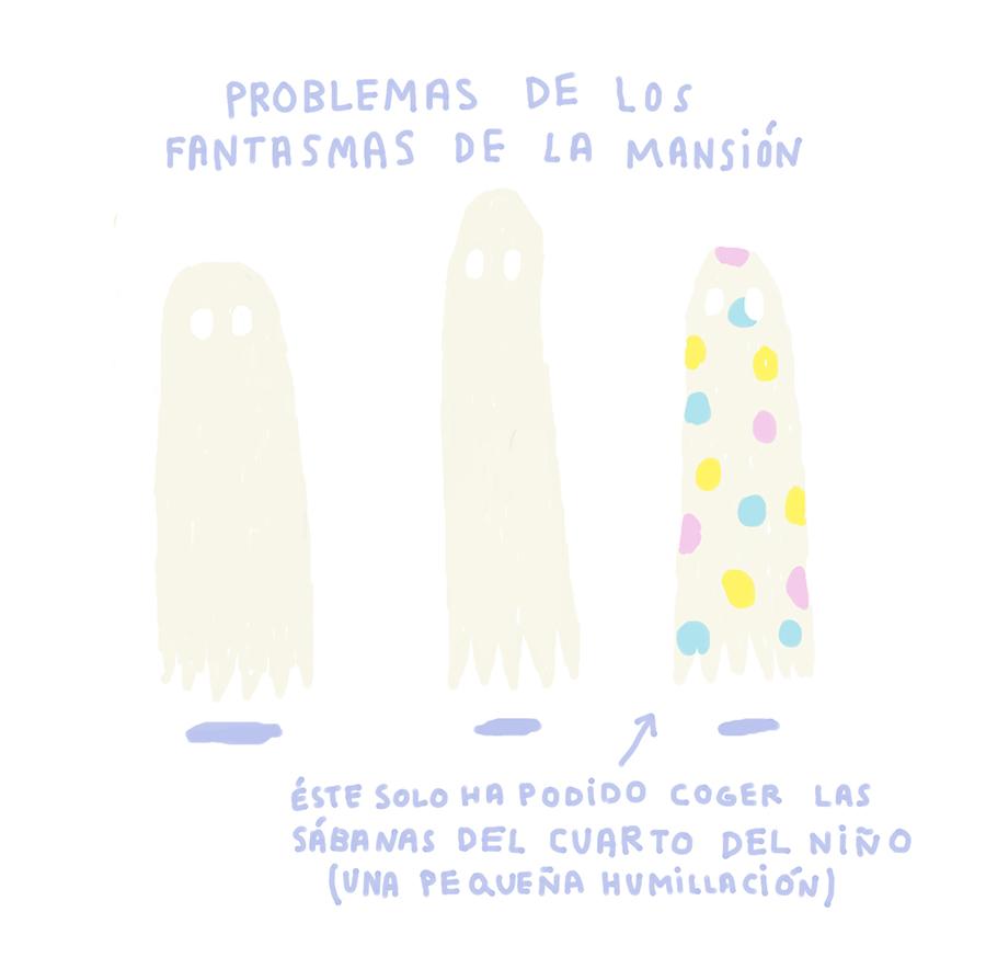 PROBLEMAS DE LOS FANTASMAS DE LA MANSIÓN