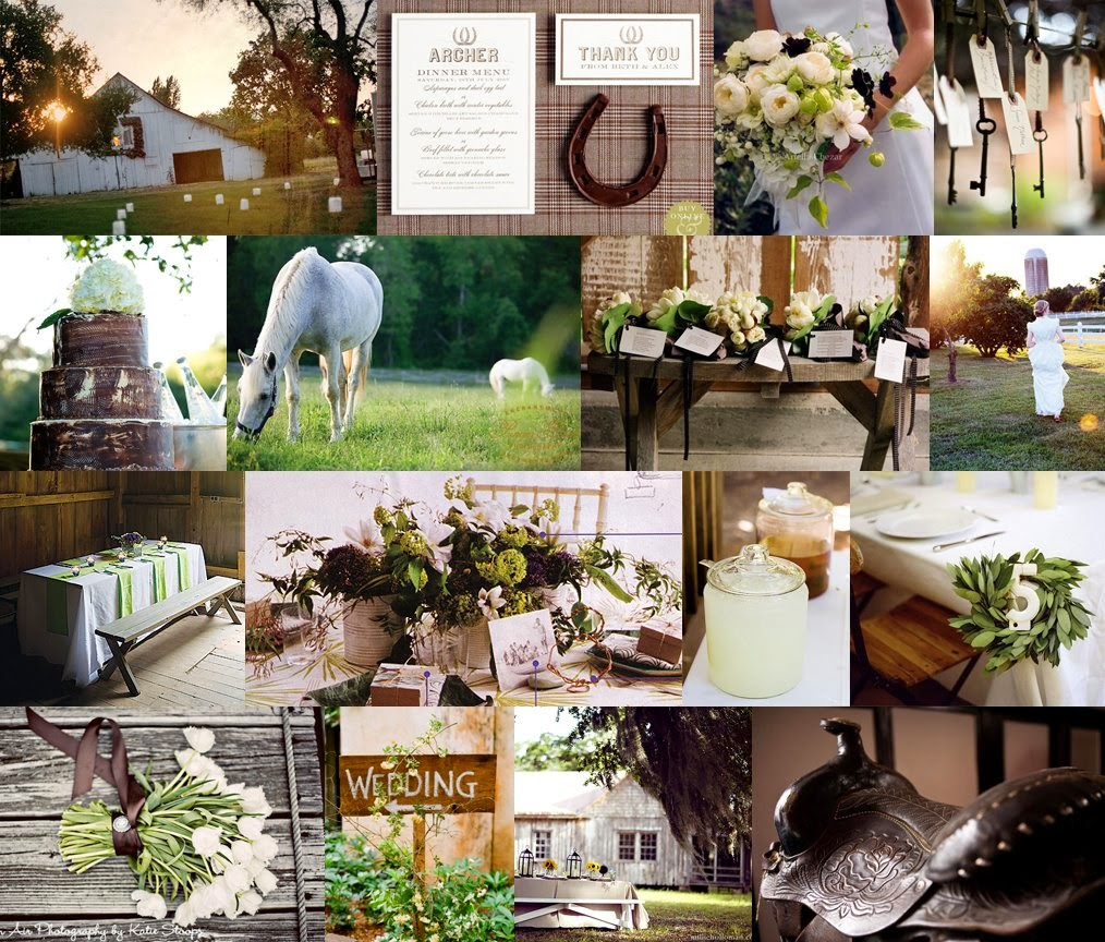 Your Wedding Support: GET THE LOOK: Horse Themed Wedding