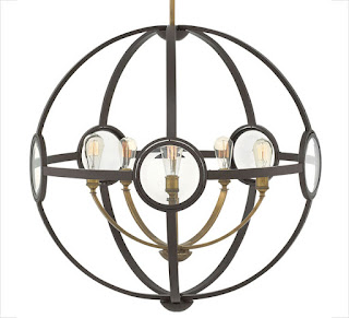 Hinkley Lighting Fulham Collection orb chandelier