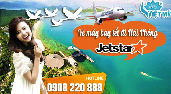 Vé máy bay tết đi Hải Phòng hãng Jetstar Pacific