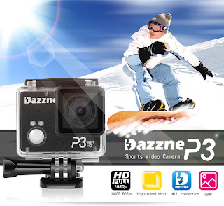 Dazzne P3 Wifi Sports Action Camera