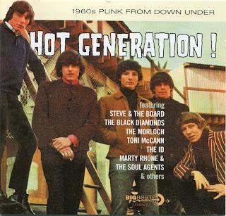 Rockasteria Various Artists Hot Generation 1960 S Punk