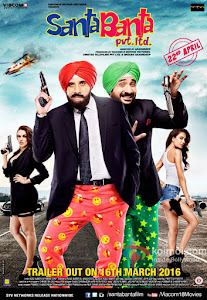 Santa Banta Pvt Ltd (2016) Worldfree4u - 325MB 480P DVDRip Hindi Movie ESubs - Khatrimaza