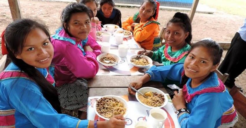 MINEDU: Estudiantes de secundaria rural recibirán desayuno, almuerzo y cena desde el 2019 - www.minedu.gob.pe