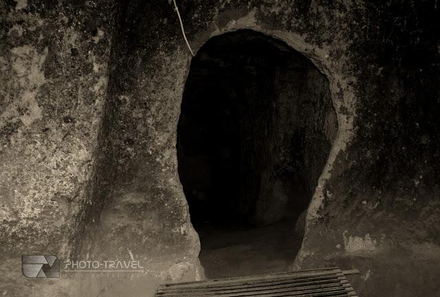 podziemne miasto Kaymakli - najwieksza atrakcja turystyczna Kapadocji w Turcji