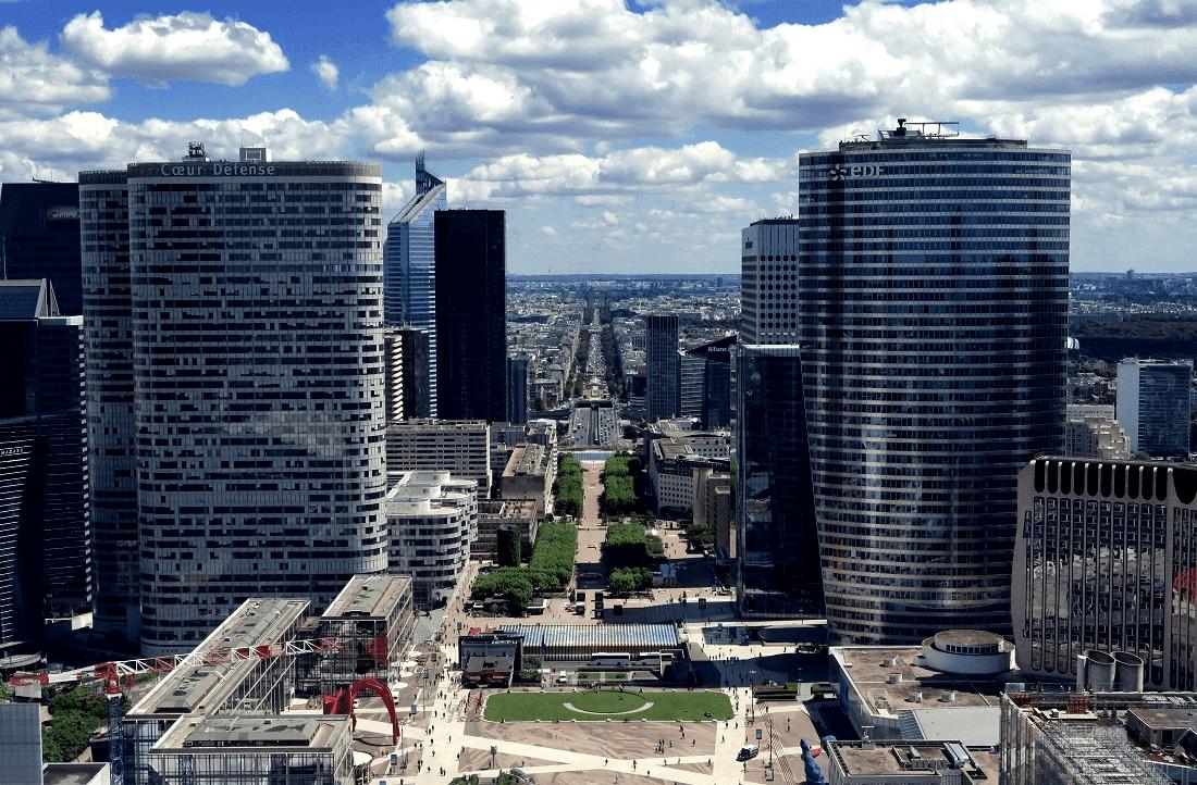 Bâtiments, avenue