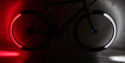 Clever Gadgets to Stay Visible In The Dark - Revolights Wheels