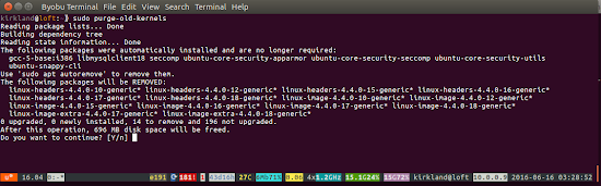 sudo purge-old-kernels: Recover some disk space! | Ubuntu