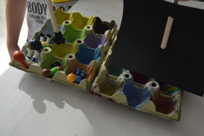 barco hueveras diy reciclaje juguetes caseros