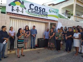 Prefeitura de Picuí inaugurou a Casa dos Conselhos