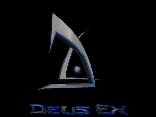 Deus Ex title screen
