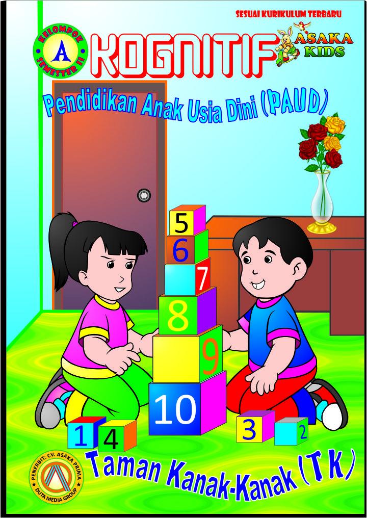 BUKU PAUD USIA 3-4 TAHUN (BUKU PAUD PAKET A) ~ (APE PAUD