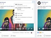 Cara Mudah Menghapus Postingan Facebook Hoax (Tidak Pantas) Dengan Fitur Tombol Snooze