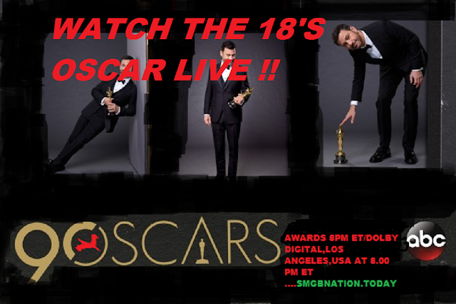 18'S OSCAR 90th Academy Awards live on ABC