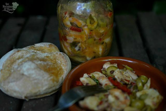receta de salpicón de langostinos y rejos tererecetas 03