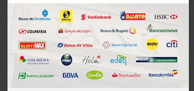 Métodos de pago Colombia