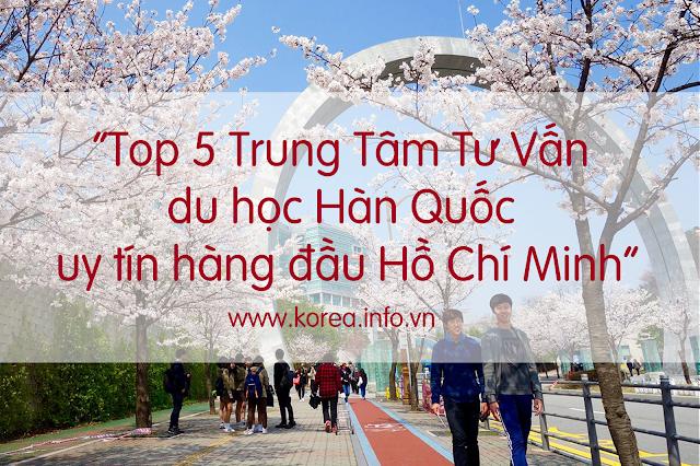 [HCM] Top 5 Trung Tâm tư vấn du học Hàn Quốc uy tín hàng đầu Hồ Chí Minh