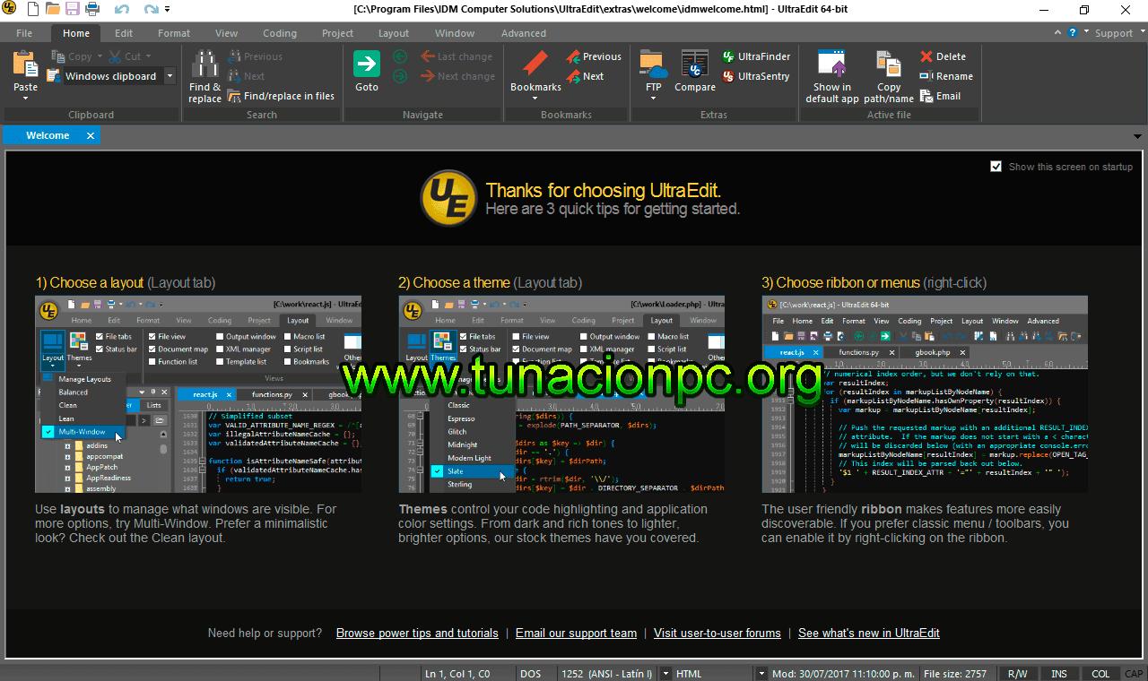 IDM UltraEdit Pro v24.10.0.35 Imagen