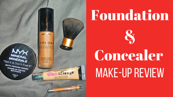 foundation and conceal makeup review