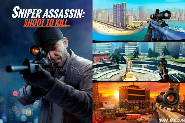 sniper 3d gun shooter mod apk unlimited money and gems