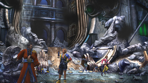FINAL FANTASY X/X-2 HD Remaster Free Download PC