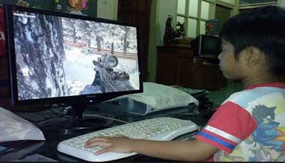 Hindari Efek Jelek Games Online Semenjak Dini