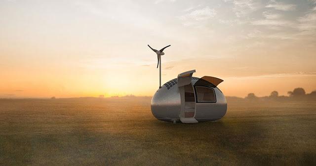 Ecocapsule, Rumah Super Canggih di Masa Depan