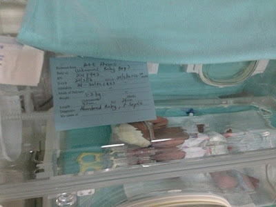 bayi terbuang, kisah bayi, bayi luar nikah, bayi dijumpai