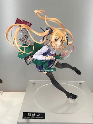 """Prototipos pintados de las figuras de Sawamura Spencer Eriri de """"Saenai Heroine no Sodatekata"""" de Max Factory y FREEing"""