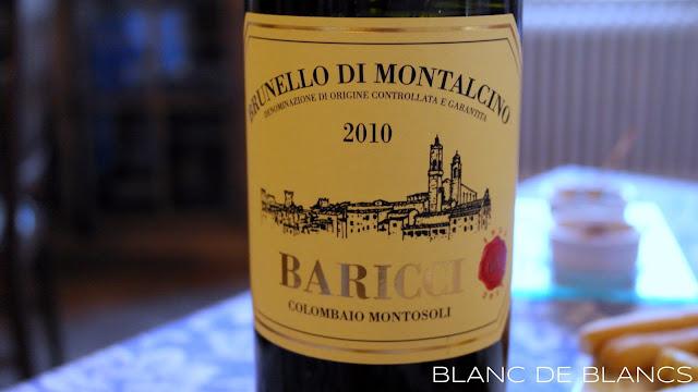 Baricco Brunello di Montalcino - www.blancdeblancs.fi